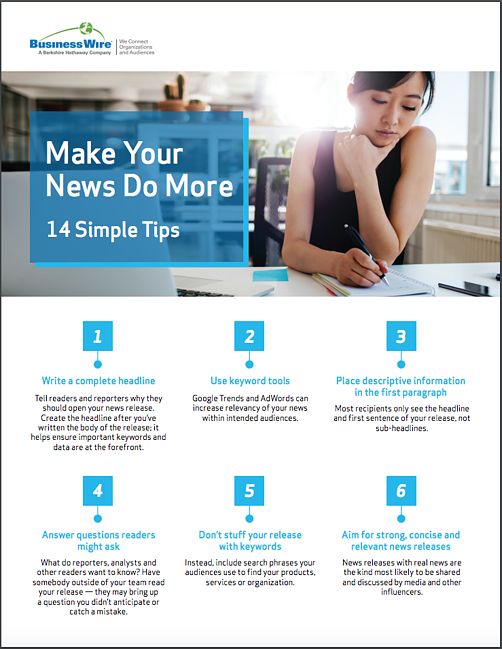 14 Tips to Make Your News Do More COVER
