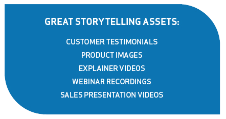 great storytelling assets